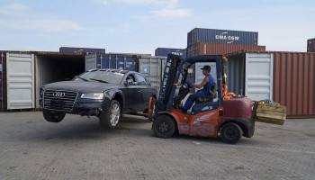Как забрать авто из США в Одесском порту